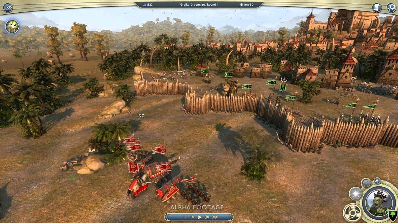 На великий город нападает неприятельское войско