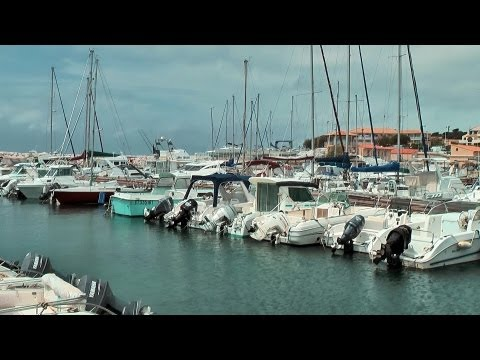 Sausset-les-Pins - the harbor coast, Provence, France [HD] (VideoTurysta.pl)