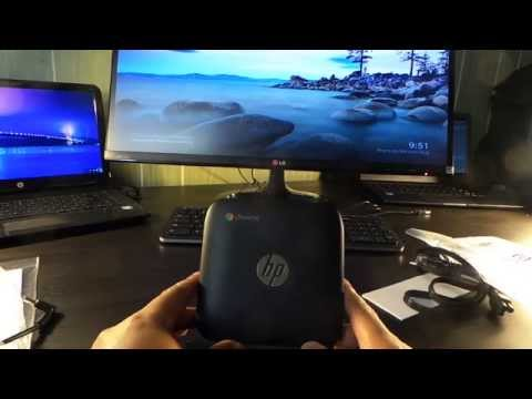 HP Chromebox 4GB of ram unboxed