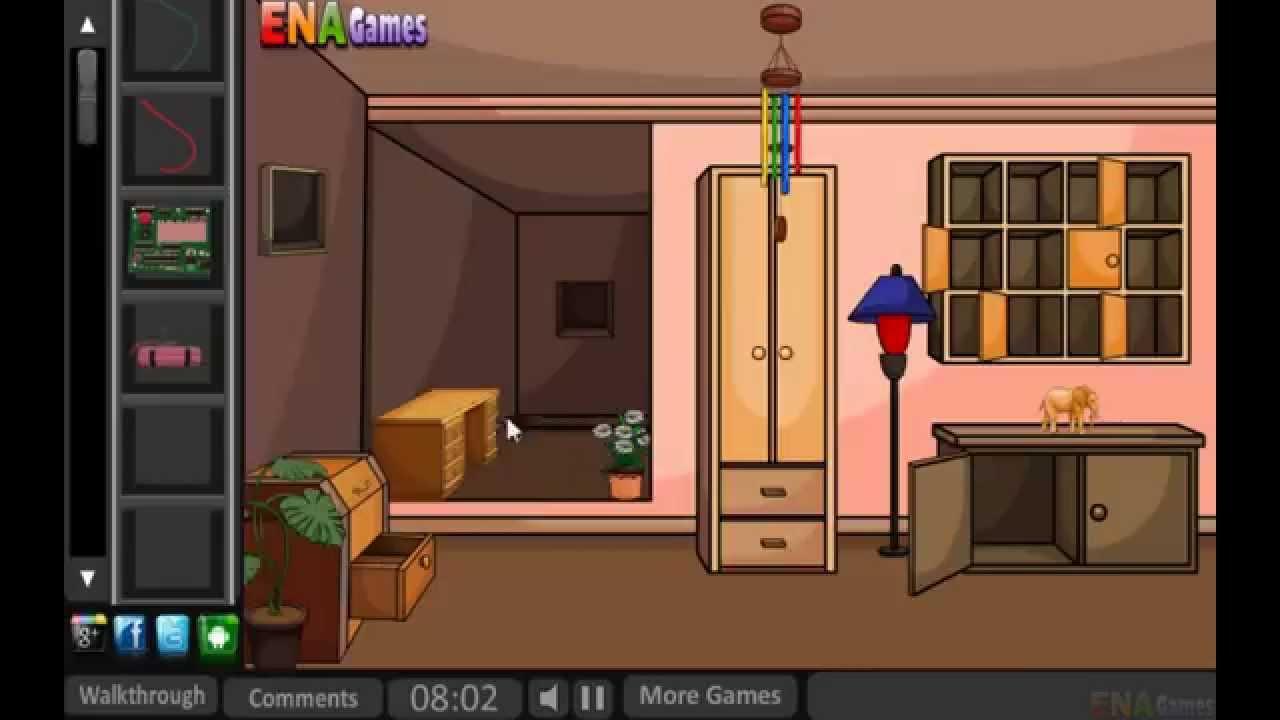 Escape from thief house walkthrough youtube for Minimalist house escape 2 walkthrough