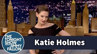 Katie Holmes Shows Off Her Beyoncé Super Bowl Halftime Show Moves