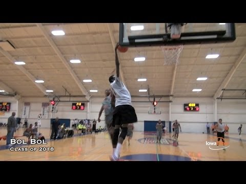 Manute Bol's Son Bol Bol | Has the MOST Potential in Class of 2018
