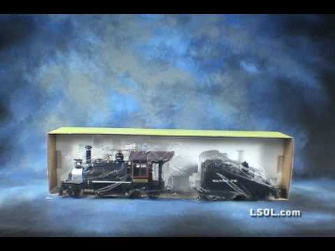 Garden Trains: Aristo-Craft Rogers Steam Locomotive