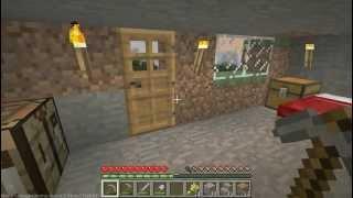 Забег по моему маленькому миру в игре Minecraft
