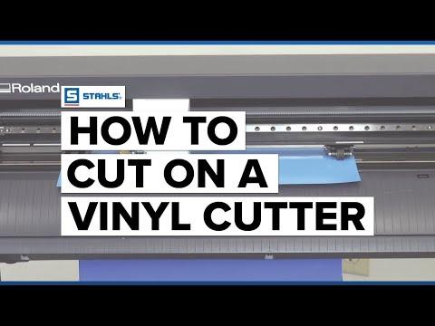 Roland GS-24: Cutting Vinyl Start to Finish