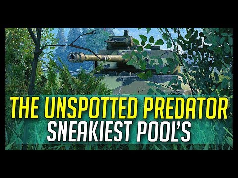 ► The Unspotted Predator, Sneakiest Pool's! - World of Tanks T71 DA Gameplay