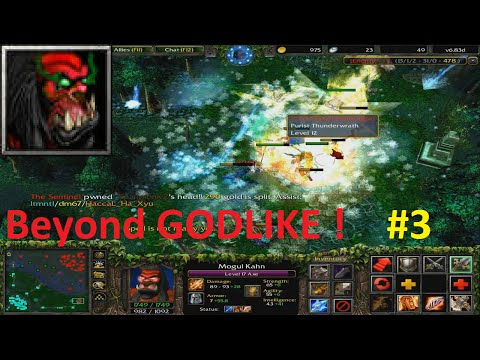 DotA 6.83d - Axe Beyond GODLIKE ! #3