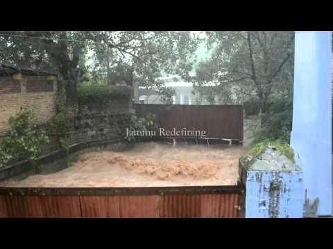 Ferocious Devika River, Udhampur floods thumbnail