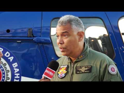 Bocão News vai base do Graer e registra ações e estrutura do grupamento