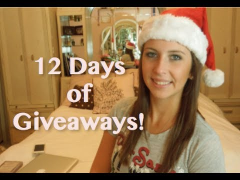 12 Days of Giveaways (Day 1)