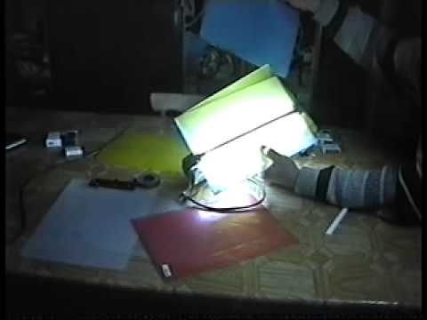 Pdr лампа своими руками 92