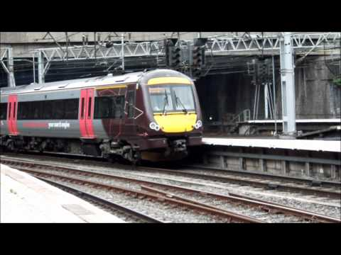 Trains at Birmingham New Street train station on 22/8/11 (Part 1)