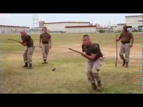 MilitaryMixedMartialArts.com - Marines belt-up with MACE