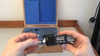 For sale: An used Sylvac Bower Fowler 3p Internal Digital Micrometer
