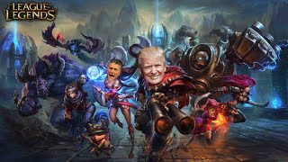 ¡TRUMP juega con MAURICIO MACRI a LEAGUE OF LEGENDS! | League of Legends