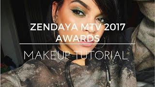 ZENDAYA MTV AWARDS 2017 TUTORIAL | BRIANNA FREEMAN