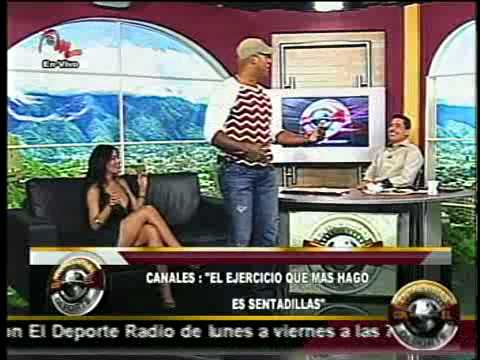 Kelvin Escobar y Diosa Canales