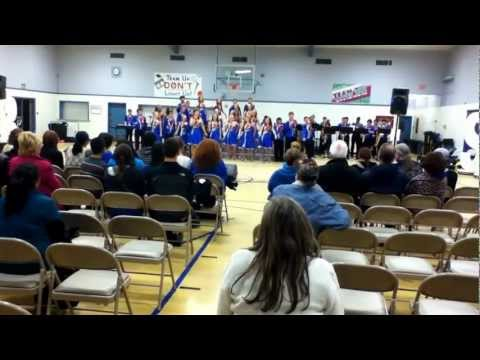 Enterprise Starship performs at Lower Lake High School