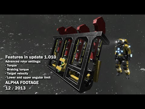 Space Engineers - Advanced Rotor Settings