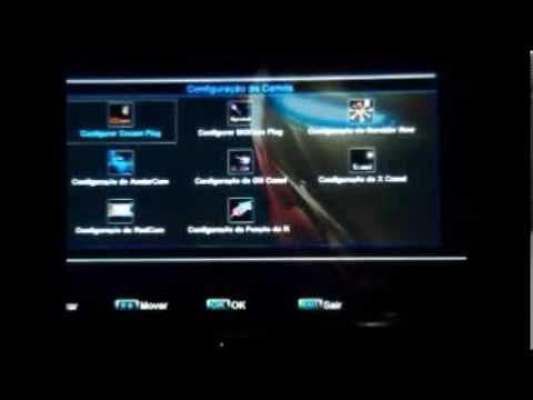 Configurando CS Skybox M3 F3 F4 F5 Abrindo Sky Full Claro HD Vivo TV Oi HD