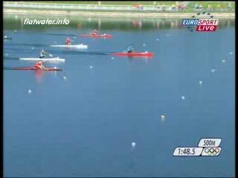 Beijing Olimpic 2008 Canoe1 1000M Finala