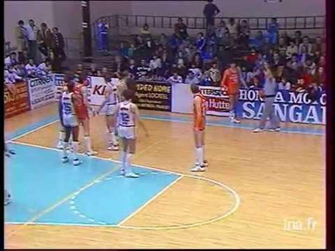 Match de basket: Antibes - Le Mans 1984