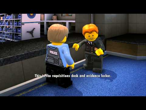 LEGO City Undercover (Wii U) - Complete Playthrough - Chapter 1 'New Faces and Old Enemies'