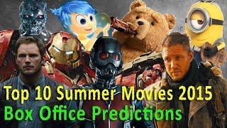 Top 10 Summer Movies 2015 Box Office Predictions