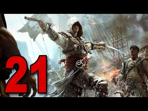 Assassins Creed 4 - Part 21 - Shark Attack! (AC4 Let's Play / Walkthrough / Playthrough / Guide)