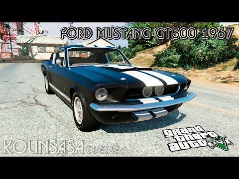 Ford Mustang GT500 1967 [replace]