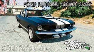 GTA 5 Ford Mustang GT500 1967