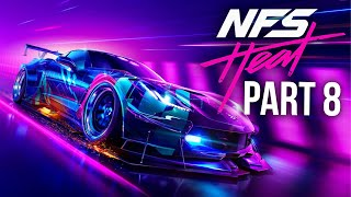 NEED FOR SPEED HEAT Gameplay Walkthrough Part 8 - K.S Edition Corvette (Full Game)