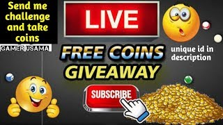 8 Pool Free coins(jakarta) To All