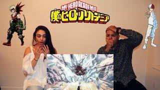 My Hero Academia Season 2 Episode 12 REACTION!!! - Todoroki VS Bakugo