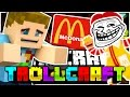 Minecraft | THE MC DONALDS TROLL!! - Troll Craft