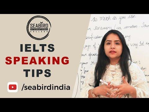IELTS SPEAKING TIPS   Seabird International