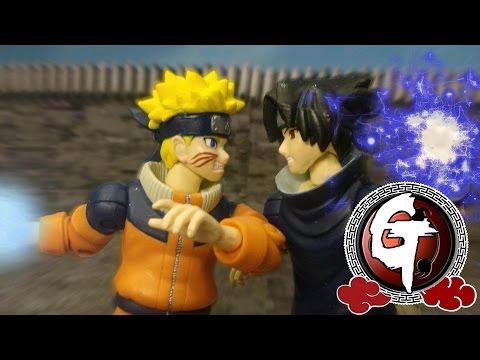 Naruto vs Sasuke Stop Motion うずまきナルトVSうちはサスケ 火影忍者-漩渦鳴人 VS 宇智波佐助