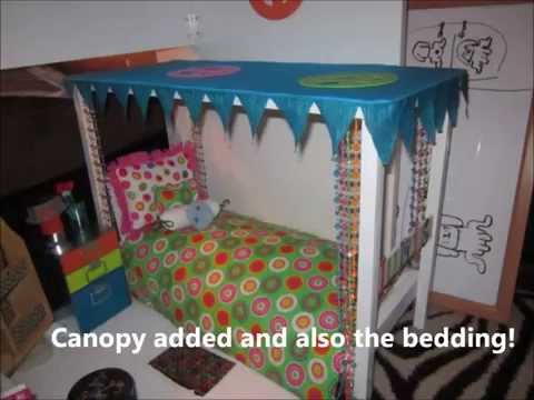 Homemade AG Julie Bed - Welcome American Girl Doll Julie - AG Video