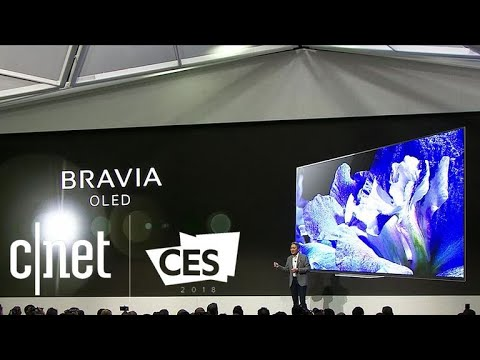 sony at ces 2018: aibo, bravia tvs and other highlights