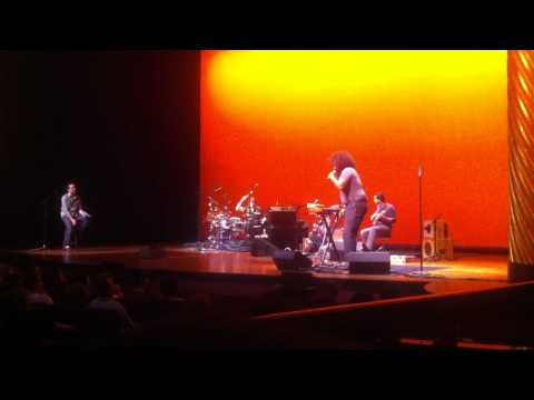 Reggie Watts, Glenn Kotche, and Buke and Gass - Improvised song, Skirball Center 6/18/11
