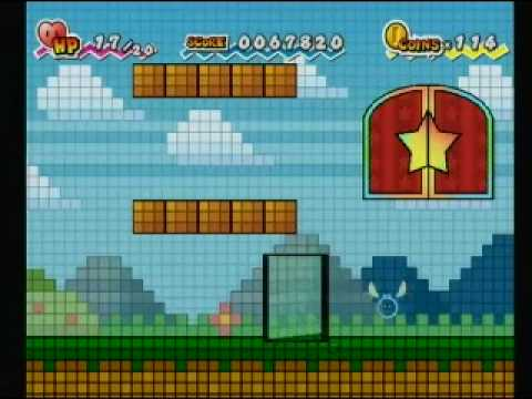 Super Paper Mario Walkthrough 21: The Bitlands