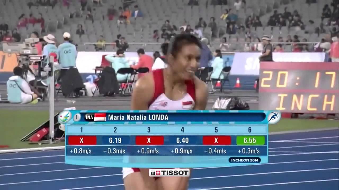 Indonesia Menyumbang Emas Dari Olahraga lompat Jauh ASIAN Games 2014 ...