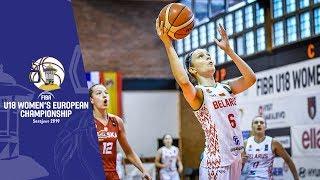Belarus v Poland - Full Game - FIBA U18 Women's European Championship 2019