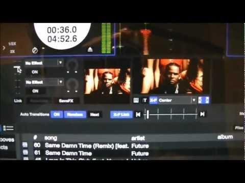 Pioneer DDJ-SX Serato Video to External Monitor
