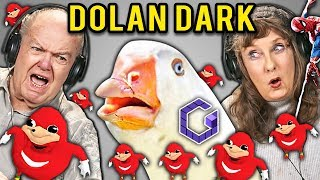 Elders React To Dolan Dark Memes Compilation (Meme Lord)