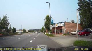 Terrible Driver in Kenmore, WA