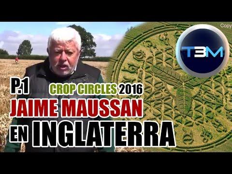 P.1 Crop Circles 2016 - Ansty - Jaime Maussan en Inglaterra