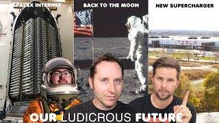 Ep 34 - NASA goes back to the Moon, Space X Starlink Internet, and Tesla V3 Supercharging