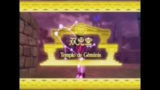 Los Caballeros del Zodiaco parte 2 Saint Seiya PS3 Batalla Santuario