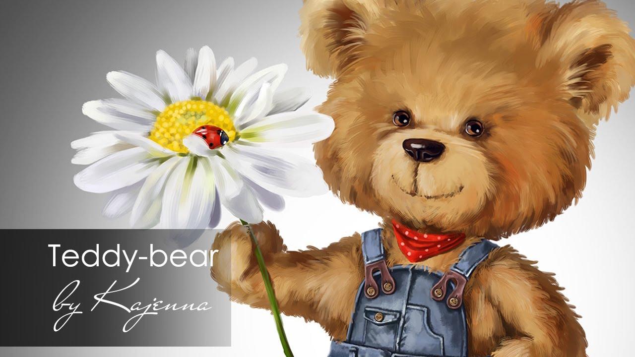 Teddy Bear Paintings Drawings Teddy-bear / Digital Painting